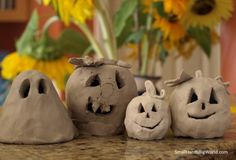 Thanksgiving and Fall Polymer Clay Craft Projects (37)