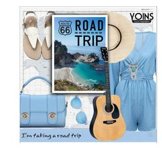 """Summer Roadtrip - Yoins"" by groove-muffin ❤ liked on Polyvore featuring Luckies and Levi's"