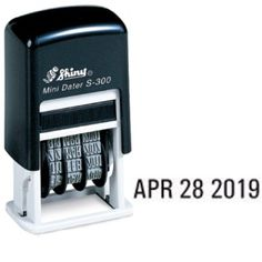 2 Self Inking Date Stamp for children to use to date their writing papers each day