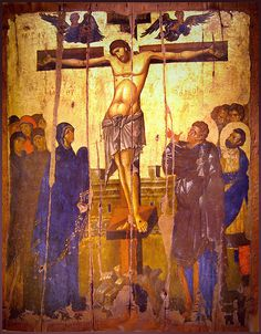 MCB - Crucifixion of Jesus - Wikipedia, the free encyclopedia Religious Images, Religious Icons, Religious Art, Byzantine Icons, Byzantine Art, Early Christian, Christian Art, Anima Christi, Eslava