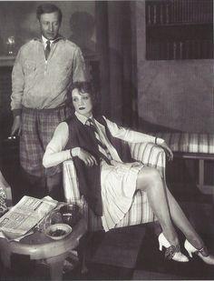 Marlène Dietrich avec l'acteur allemand Fritz Odemar, Berlin, 1927