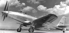 P-75 Fisher Eagle. 1943. Built by Fisher Body Div. of GM. Powerplant: Allison V-3420 counter thrust props. Designed to be an interceptor.