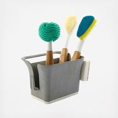 Everything you need in one place! Bintastic's Bright Bin keeps your favorite tools organized and clean while the collection of Full Circle's favorite brushes makes sure you're ready to spread the sparkle. Includes: In a Nut Shell walnut scrubber sponge 2-pack  Bright Bin sink caddy Crystal Clear 2.0 replaceable glass cleaner  Laid Back 2.0 dish brush Laid Back 2.0 dish brush 2-pack refill