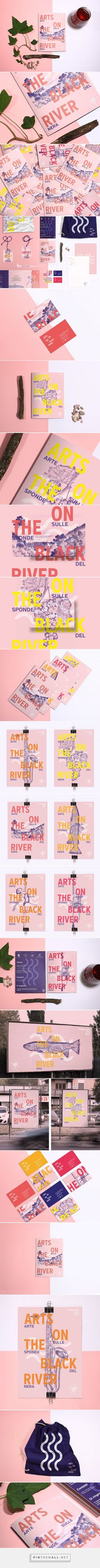 Arts on The Black River Festival Branding by Bocanegra Studio | Fivestar Branding – Design and Branding Agency & Inspiration Gallery