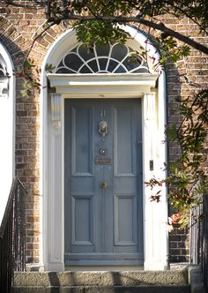 The door which located at the 11 Charleville Road, Dublin.