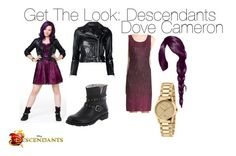 """""""Get The Look: Dove Cameron"""" by lifeissweet170000 ❤ liked on Polyvore featuring Disney, R13, Gucci, Descendants and dovecameorn"""