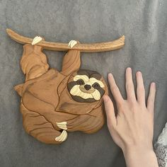 Black bear intarsia wall hanging Scroll saw art Wood carved | Etsy Wildlife Home Decor, Wood Pig, Intarsia Wood, Wooden Fish, Craft Club, Wooden Animals, Animal Decor, Nature Decor, Scroll Saw