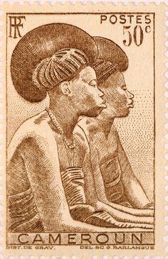 Cameroun Stamp