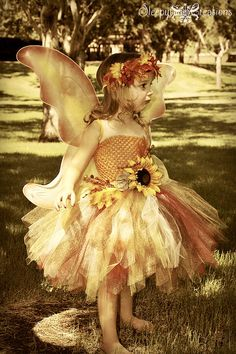 Autumn Fairy tutu dress sizes up to 4t/5t by Sleepytime4 on Etsy, $48.00