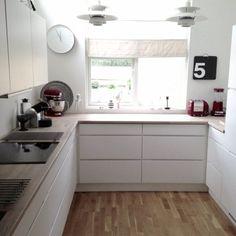 cute white kitchen ombiaiinterijeri | All things nice