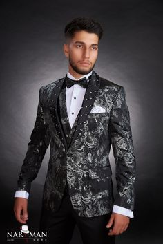 1 new message Fashion Suits, Mens Fashion, Mandarin Collar, Tuxedo, Mens Suits, Nasa, Costumes, Men's Shoes, Suit Jacket