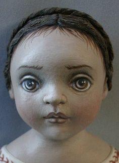 Куклы Susie McMahon в технике грунтованного текстиля.. Обсуждение на LiveInternet - Российский Сервис Онлайн-Дневников