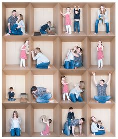Family Fun in a Box | Creative – Michelle Gier Photography