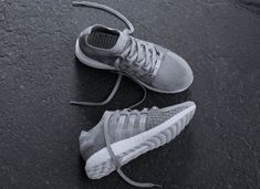 A First Look At The adidas EQT Boost King Push Greyscale • KicksOnFire.com