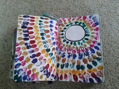pages 118/119: color outside of the lines!