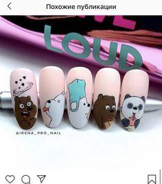 Shellac Nail Designs, Shellac Nails, Acrylic Nails, Plaid Nails, Swag Nails, Cute Spring Nails, Nail Set, Artificial Nails, Pedicure