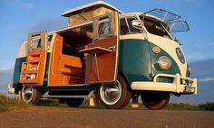 "Volkswagen vai relançar a clássica Van ""Hippie""  A clássica carrinha…"