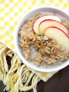 Morning Glory Oatmeal (zucchini, carrot, apple, molasses) | the oatmeal artist