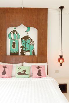 ไอเดียตกแต่งหัวเตียง Bed Story, Room, Furniture, Ideas, Home Decor, Bedroom, Decoration Home, Room Decor, Rooms
