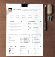 Professional Graphic Design Resume New Professional Cv  Resume Templates With Cover Letter  Design .