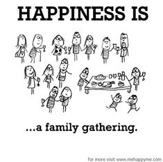 Happiness #531: Happiness is a family gathering. Finishes the half term off just nicely 😋