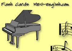 Instrument flashcards.