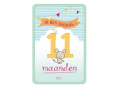 My Happy Moment: Ik ben vandaag 11 maanden! Verkrijgbaar als 18-delige set voor € 9,95 http://www.myhappymoments.nl/home/