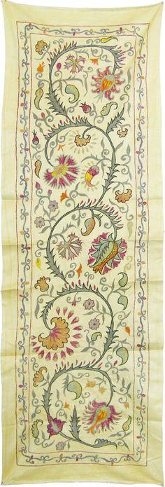 handmade silk suzani zardevor by SULTANSHOP