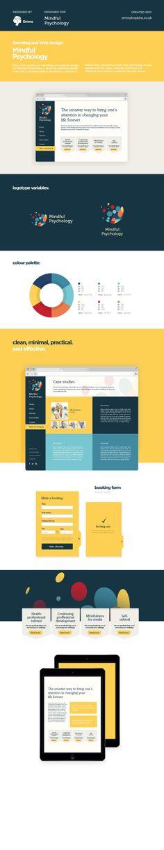 Mindful Psychology Brand and Website