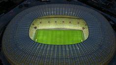 Arena Gdansk, Gdansk, Poland Gdansk Poland, Uefa Euro 2016, Green Shades, European Football, Homeland, Architecture, City, Beautiful, Fields