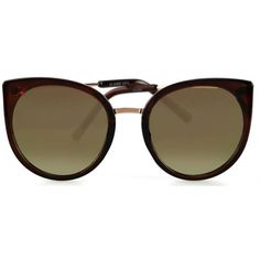 LARGE BOHO CHIC BROWN OVERSIZED SUNGLASSES 9822 ($7.77) ❤ liked on Polyvore featuring accessories, eyewear, sunglasses, brown oversized sunglasses, tortoise shell sunglasses, tortoiseshell sunglasses, brown glasses and oversized tortoise sunglasses