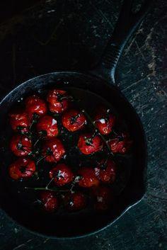 www.shootingpeas.com Sweet roast cherry toms.