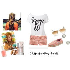 Summertime, created by prettyrose16