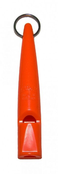 Acme High Pitch Dog Training Whistle 211 5 Orange High pitch without a pea Produces a solid single high frequency