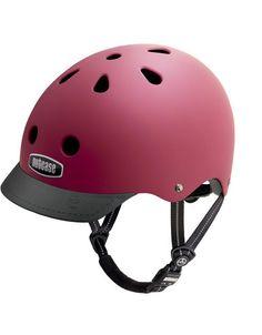 Nutcase Super Solid 3rd Gen Fire Engine Red Bicycle Helmet | Nutcase Bike Helmets - Ridelow.co.uk
