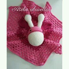 Naninhas em croche ..soninho bom para bebes