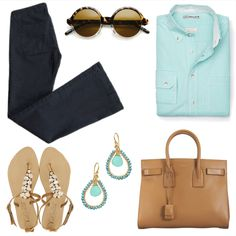Look #12 #theseafarer #seafarer #look #outfit #denim #jeans #bellbottom #classy #style #clothes #woman #spring #summer #collection