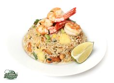 La Cuisine de Bernard : Riz Frit aux Crevettes, Ananas et Noix de Cajou
