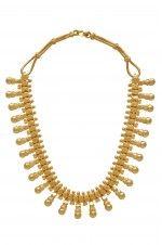 Tribebyamrapali-Silver Traditional Southern Necklace