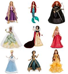Disney Limited Edition Dolls Princess Art Movies