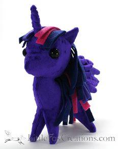Princess Pony Unicorn Pegasus  My Little by LittleFoxCreationsWA