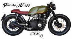 Yamaha xj 650 by cafe racer madrid