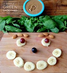 Almond Butter and Jelly Green Smoothie - Simple Green Smoothies