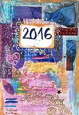 #krasarts blog - all about my art journal in 2016