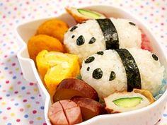 Panda Lunch Box 癒し系パンダ弁当