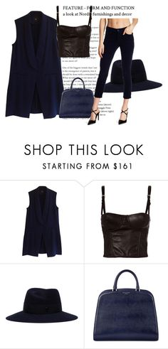 """""""Deans"""" by fashionista-763 on Polyvore featuring мода, Steffen Schraut, Fleur du Mal, Maison Michel, Aspinal of London и Mother"""