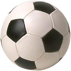典型的なサッカーボール。