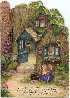 illustration by Susan Wheeler Susan Wheeler, Vogel Gif, Lapin Art, Art Fantaisiste, Bunny Art, Beatrix Potter, Whimsical Art, Cute Illustration, Cute Art