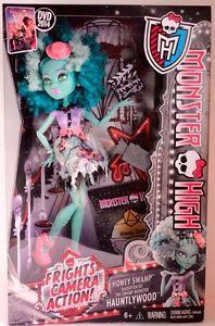Monster High Honey Swamp Doll NEW Daisy Marie, Monster High, Purses And Handbags, 4th Of July, Honey, Dolls, Ebay, Outline, Satchel