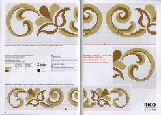 Regeling randen en ornamenten borduren (weven) | biser.info - alles over kralen en kralen werken